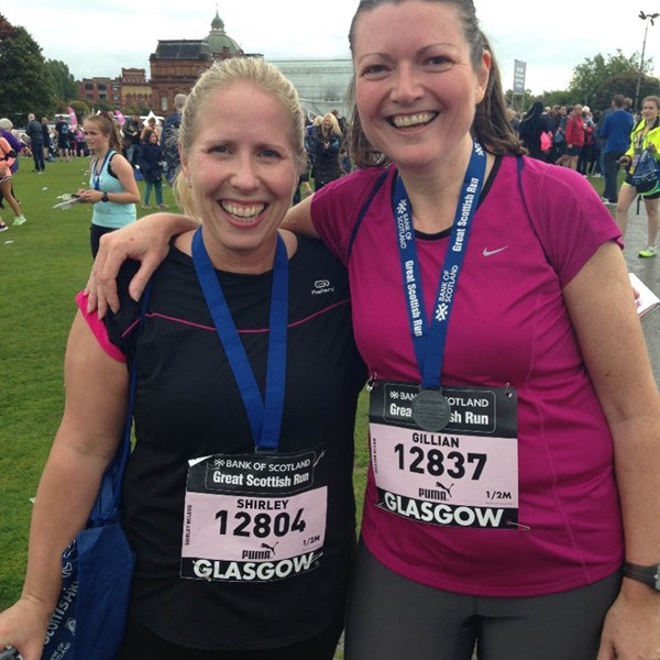 Gillian's Marathon Challenge
