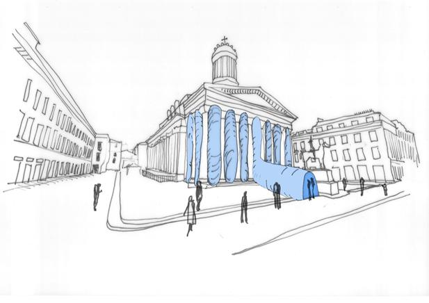 Pavilion Concept Sketch