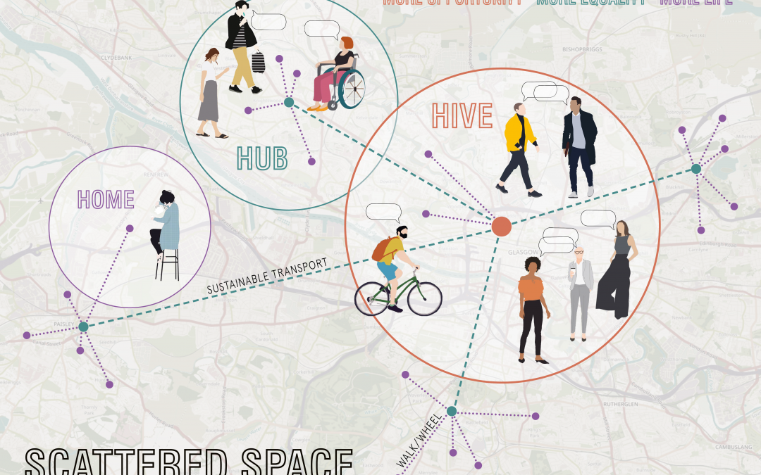 Scattered Space: Inclusive and Regenerative Workplace